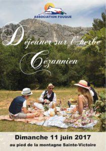 Déjeuner sur l'herbe cézannien 2017 - Santons Fouque Aix en Provence