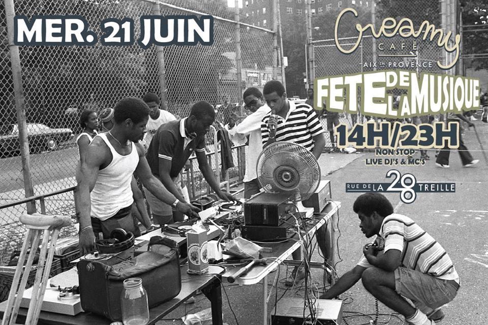Fete de la musiqe Creamy Café - Fête de la musique Aix en Prvoence