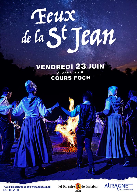 Feu de la Saint Jean - Aubagne