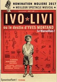 Ivo livi - Festival des Mots des Etoiles - Théâtre Silvain Marseille
