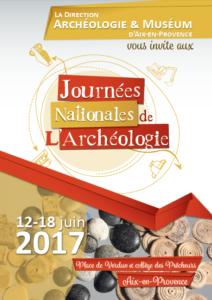 Journées nationales de l'archéologie - Aix en Provence