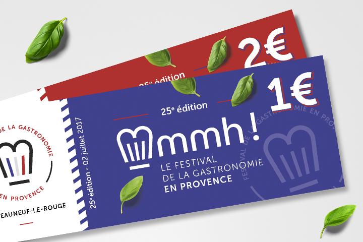 25 e édition Mmmh Festival - Chateauneuf le Rouge - Provence - Billetterie