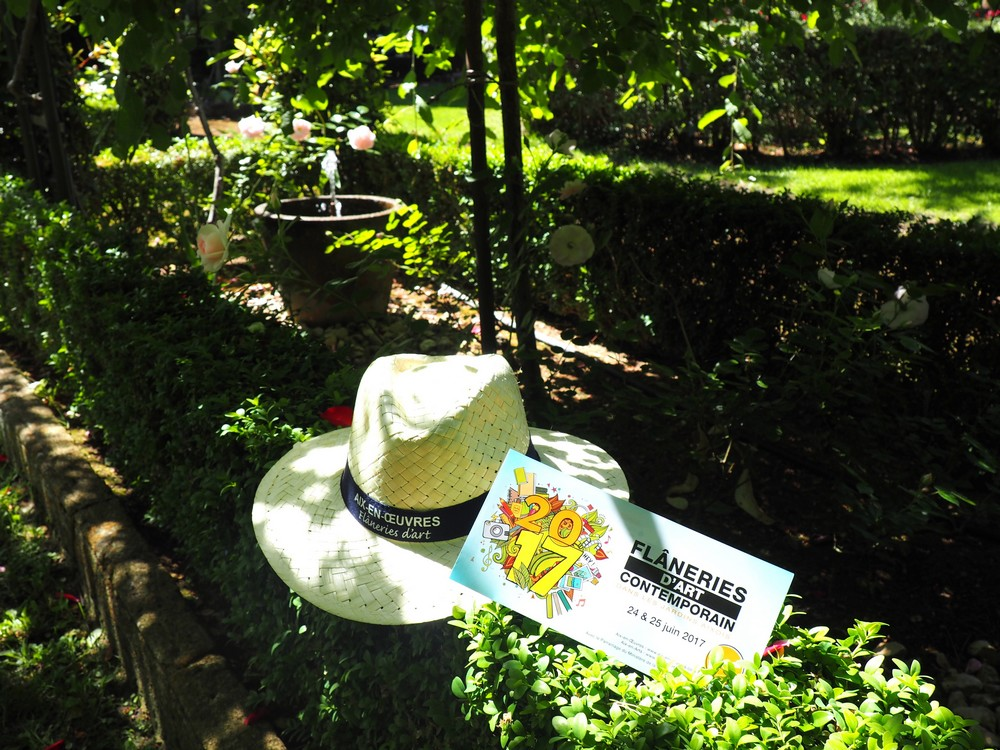 Flâneries d'Art dans les jardins d'Aix en Provence
