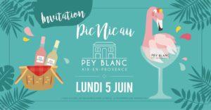 Pic Nic au Pey Blanc -Aix en Provence