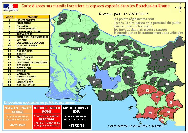 Incendie ! Prudence et vigilance en Provence #tousvigilants