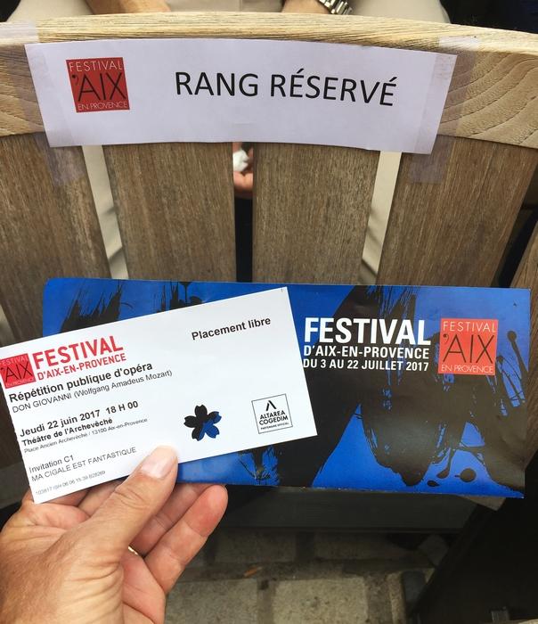 En vadrouille 6 - Dans les coulisses du Festival d'Aix en Provence