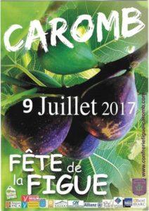 Fête de la figue longue noire de Caromb 2017