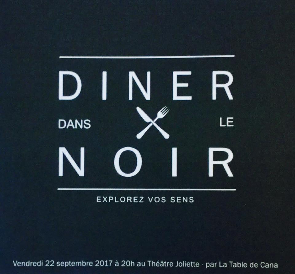 Dîner dans le noir -La table de Cana Marseille