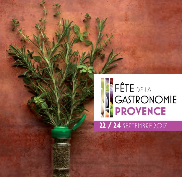 A table ! C'est la fête de la gastronomie en Provence !