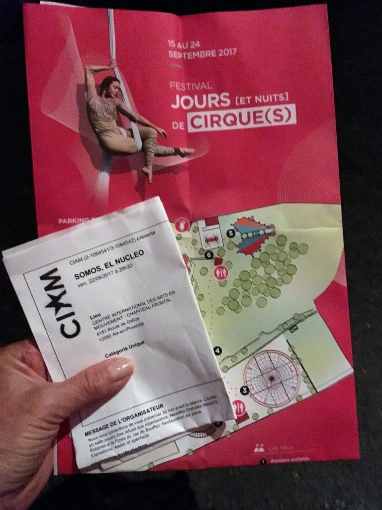 Somos - El Nucléo - Le Festival Jours [et Nuits] de Cirque(s) CIAM - 2017 Aix en Provence