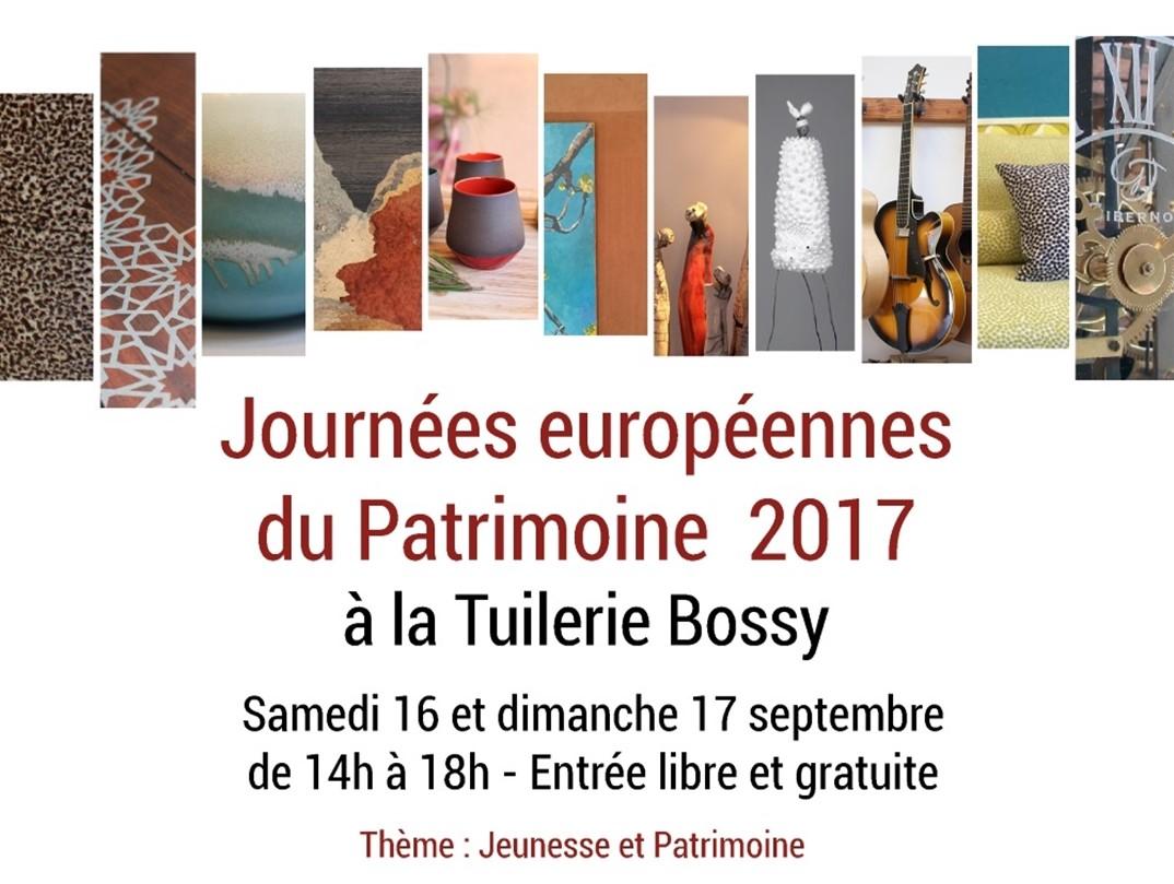 Journées Européennes du patrimoine Tuilerie Bossy- Gardanne