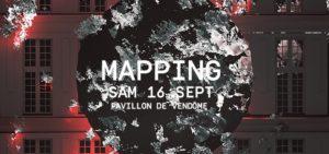 Vidélà Mapping Cyril Meroni - Pavillon Vendôme - Aix en Provence