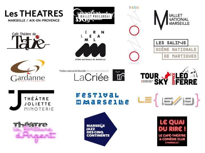 Partenaires Le spectacle est à nous - Bon plan - Aix en Provence - Marseille