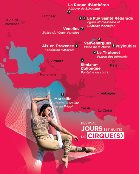 Le Festival Jours [et Nuits] de Cirque(s) CIAM - Aix en Provence