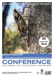 Conférence - Les cigales de Provence
