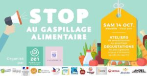 Stop au Gaspillage alimentaire - Marseille 2017