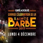 Celebration de la Sainte Barbe Gréasque 2017