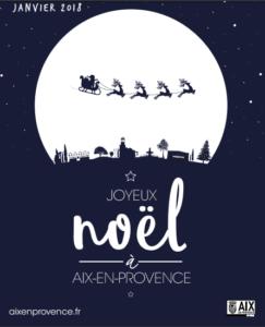 Joyeux noel à Aix en Provence