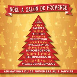 La magie de Noël à Salon de Provence