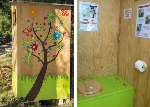 Toilettes sèches Elan Jouques