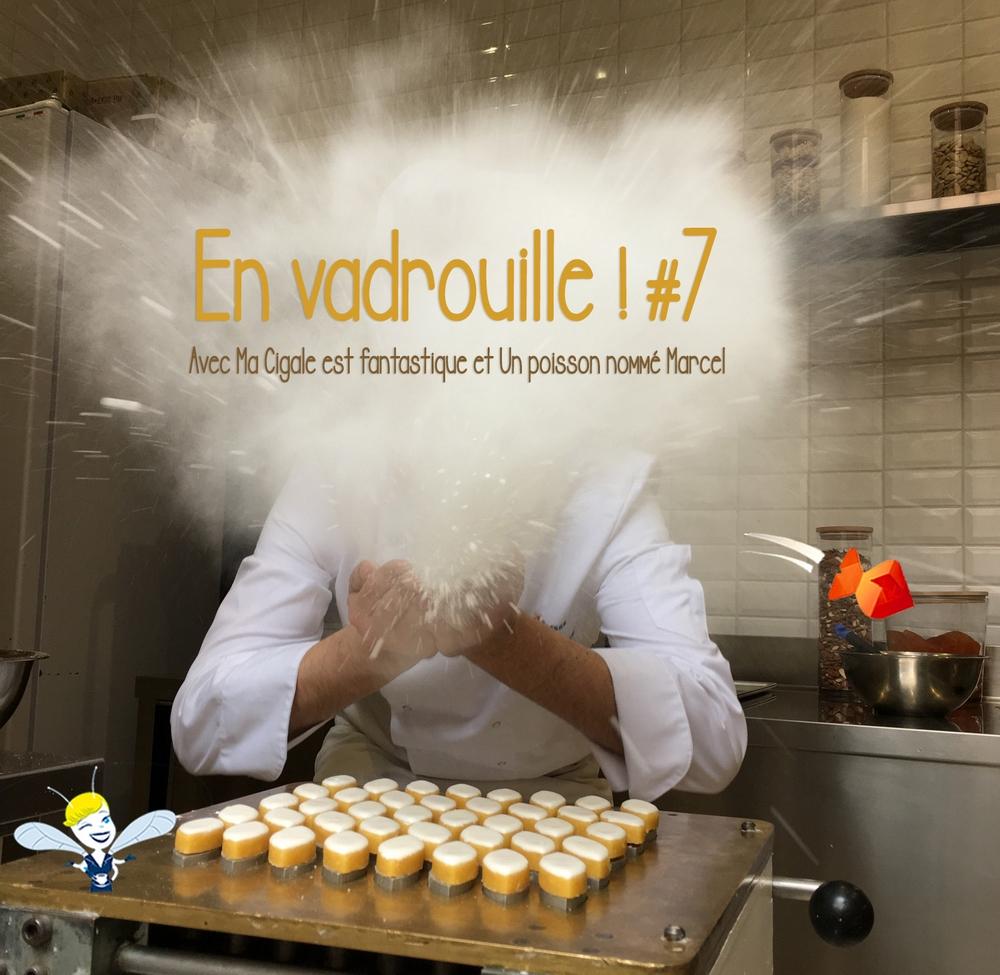 En Vadrouille #7 à l'atelier des calissons Le Roy René avec le poisson Marcel et ma Cigale !