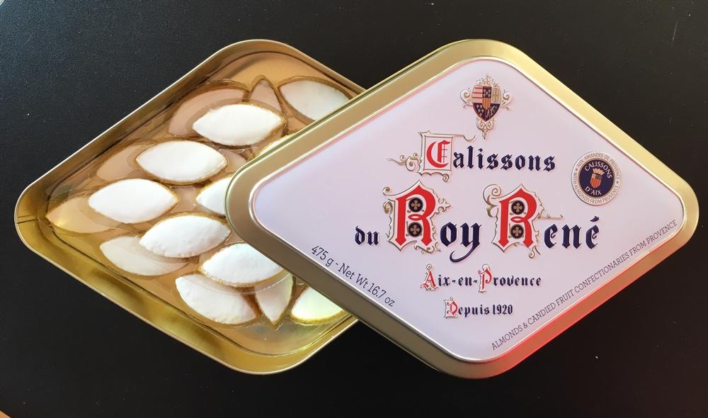 Boite Calissons Roy René - Atelier du confiseur - Aix en Provence