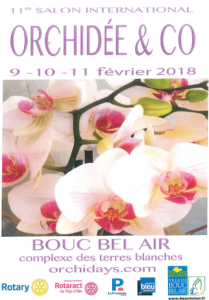 11ème Salon International Orchidee & Co 2018