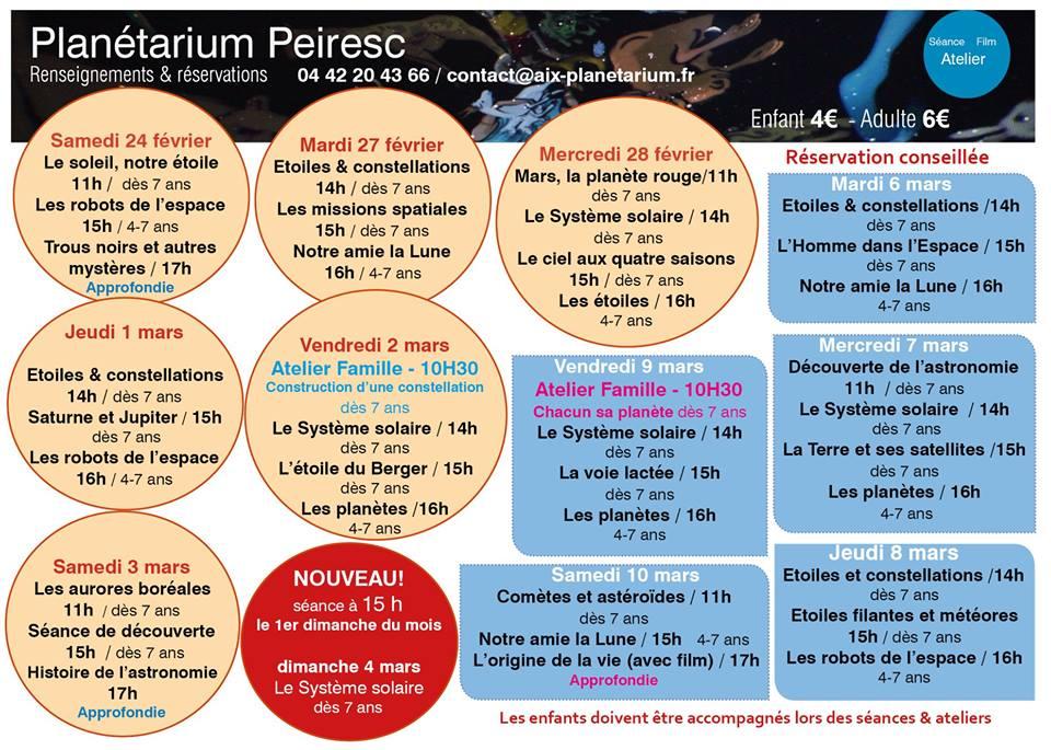 planetarium Peiresc - Aix en Provence