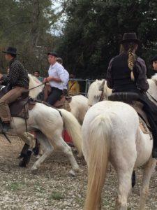 Fête du cheval Calas - bénédiction des chevaux