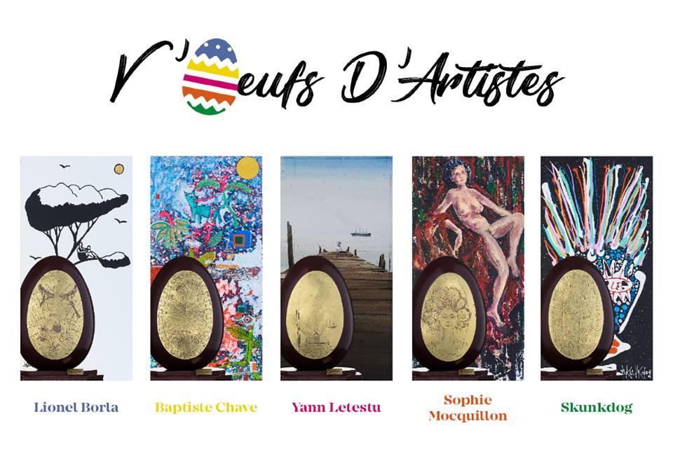 V'Oeufs D'Artistes chocolat Puyricard