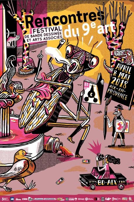 Festival BD Aix Rencontres du 9e Art - Jakob Hinrichs