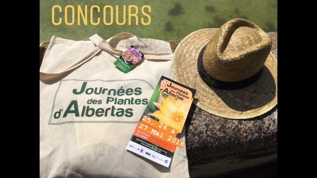 Les Journées des Plantes d'Albertas 2018 Concours