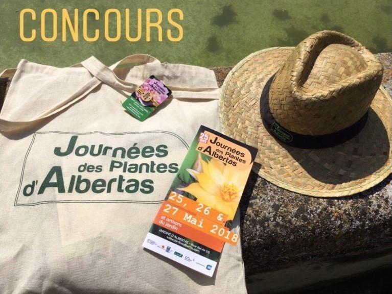 Journées des Plantes d'Albertas Jeu Concours