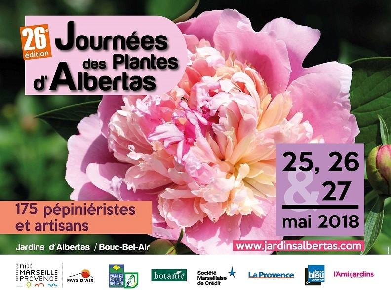Les Journées des Plantes d'Albertas 2018