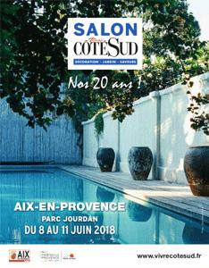 """Salon Vivre Côté Sud 2018 """"Les 20 ans"""""""