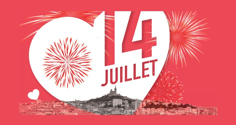 "14 juillet Marseille ""Amour & Humour"" #MP2018"
