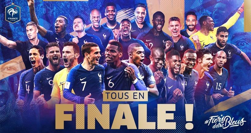 Finale coupe du monde 2018 France