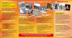 Programme Flyer Escales patrimoine