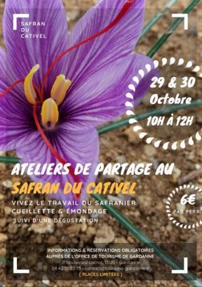 Ateliers Safran du Cativel 2018