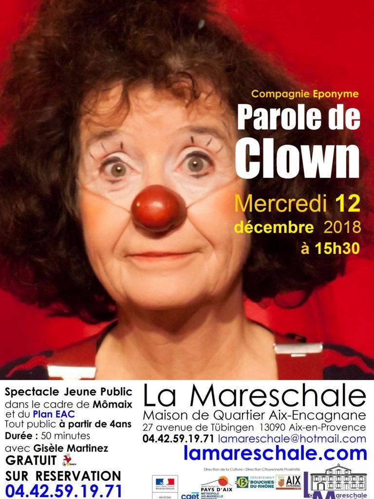 Parole de clown Momaix