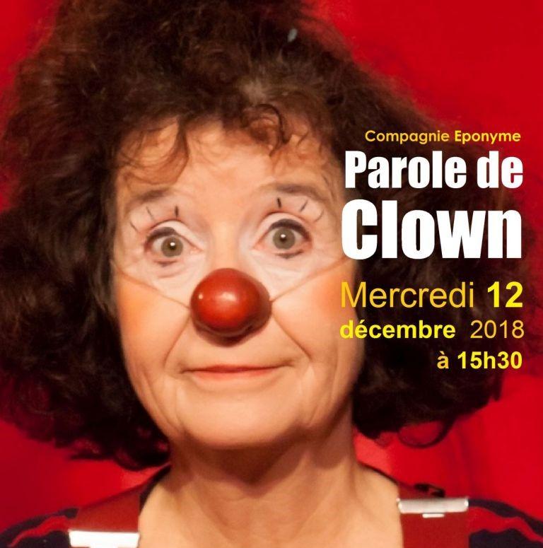 Parole de Clown 🎈  Momaix 🎈 Festival Jeune Public
