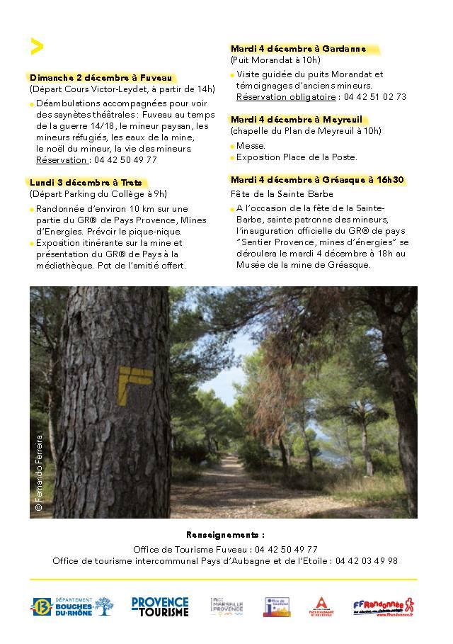 """GR® de pays """"Sentier Provence Mines d'énergies"""""""