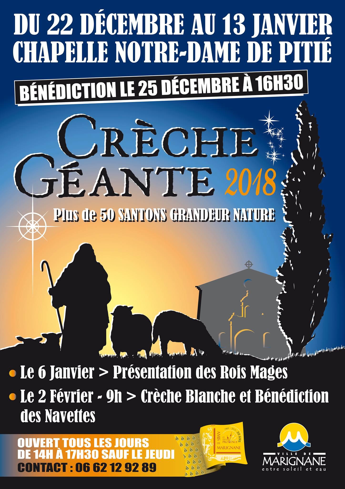 creche géante 2018 Marignane