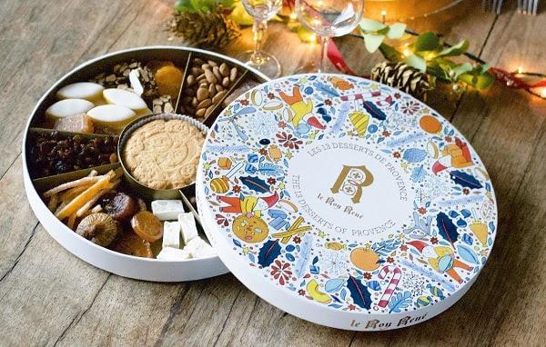 Les 13 desserts de Provence Le Roy René