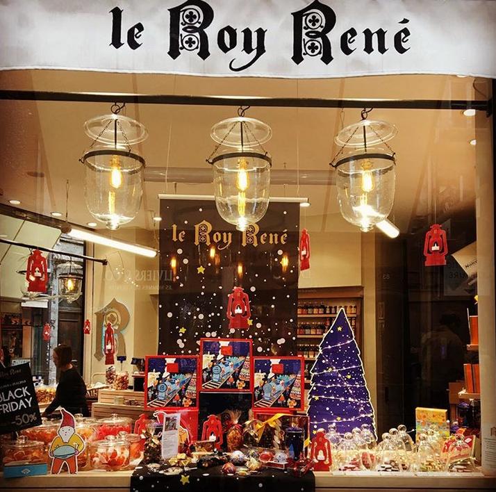 Les boutiques de Noël Leroy René