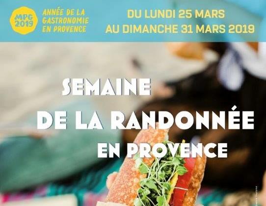 Semaine de la randonnée en Provence – 2019