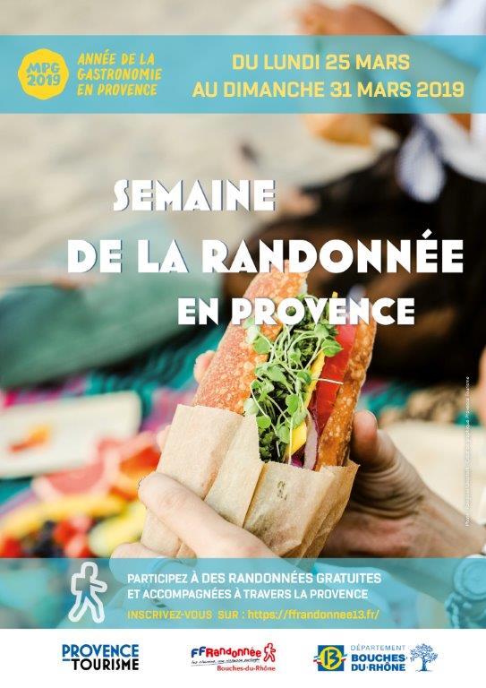 Semaine randonnée en Provence 2019