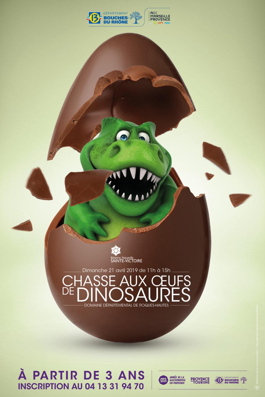 Chasse aux oeufs de dinosaures - Sainte Victoire