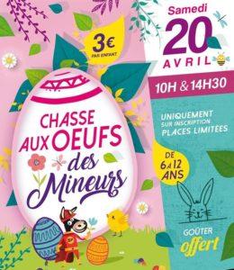 Chasse-aux-oeufs Musee de la mine de Gréasque
