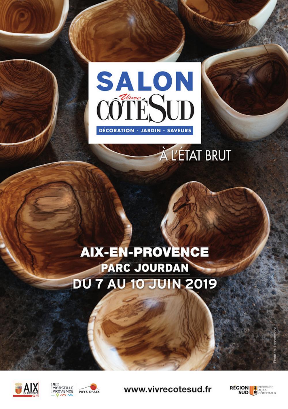 """Salon Vivre Côté Sud """"À l'état brut"""""""